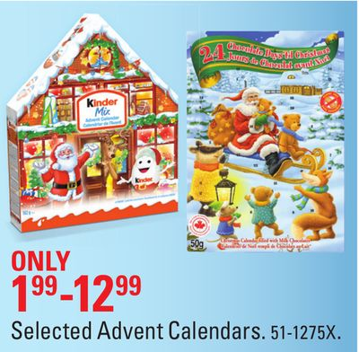 Selected Advent Calendars