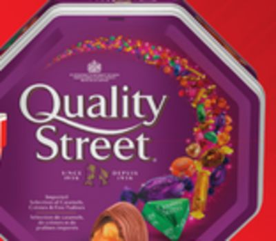 Quality Street Chocolates 725g Tin