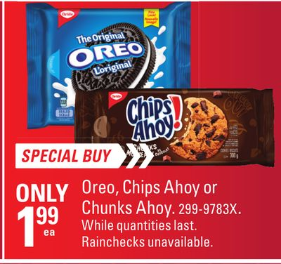 Oreo - Chips Ahoy or Chunks Ahoy