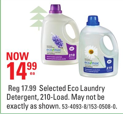 Selected Eco Laundry Detergent - 210-load