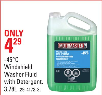 -45°c Windshield Washer Fluid With Detergent