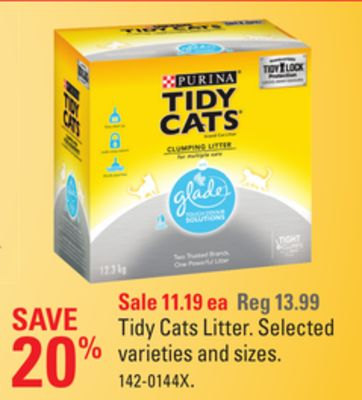 Tidy Cats Litter