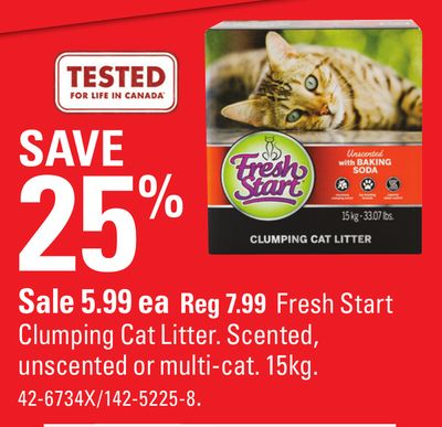 Fresh Start Clumping Cat Litter