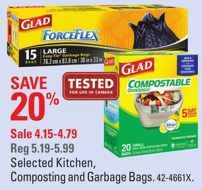 Selected Kitchen - Composting and Garbage Bags