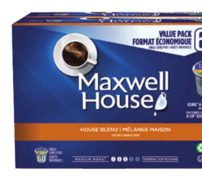 Maxwell House Coffee Pods