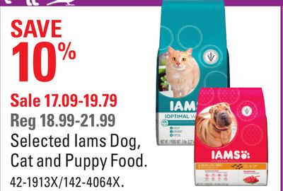 Selected Iams Dog - Cat and Puppy Food
