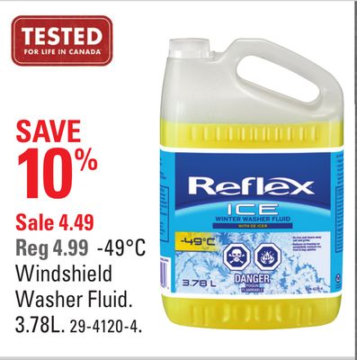 -49°c Windshield Washer Fluid