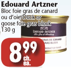 edouard artzner bloc foie gras de on sale. Black Bedroom Furniture Sets. Home Design Ideas
