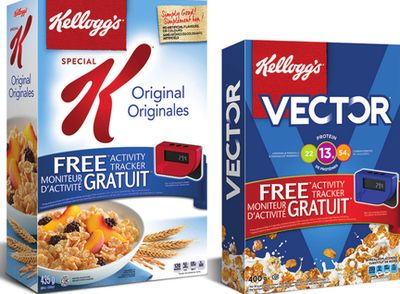 Kellogg's Special K Or Vector Cereal - 312-525 g