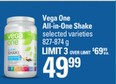 Vega One All-in-one Shake - 827-874 g
