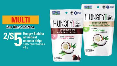 Hungry Buddha All Natural Coconut Chips - 40 g