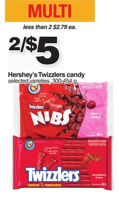 Hershey's Twizzlers Candy - 300-454 g