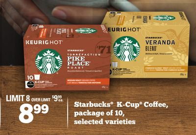 Starbucks K-cup Coffee - Package Of 10