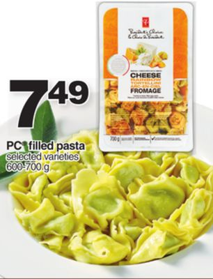 PC Filled Pasta - 600-700 g
