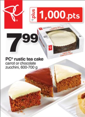 PC Rustic Tea Cake - 600-700 g