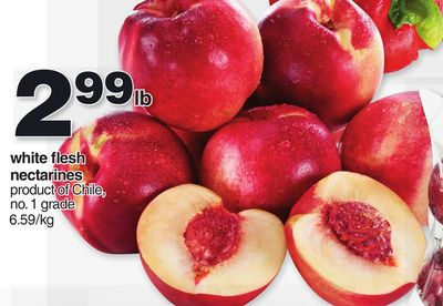 White Flesh Nectarines
