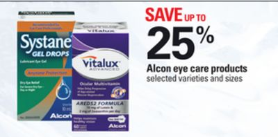 Alcon Eye Care Products