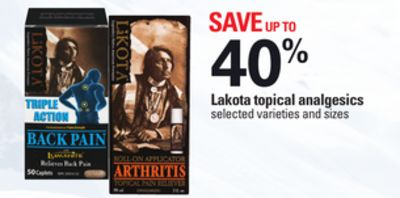 Lakota Topical Analgesics