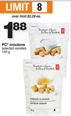 PC Croutons - 140 g