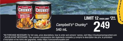 Campbell's Chunky - 540 mL