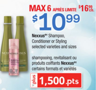 Nexxus Shampoo - Conditioner Or Styling
