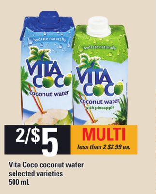 Vita Coco Coconut Water - 500 mL