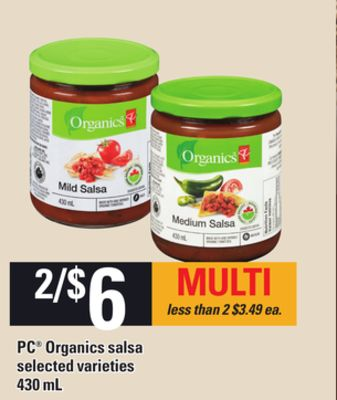 PC Organics Salsa - 430 mL