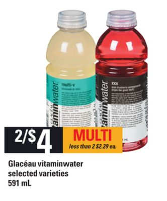 Glacéau Vitaminwater - 591 mL