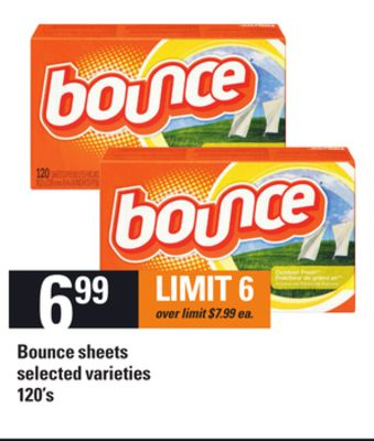 Bounce Sheets - 120's
