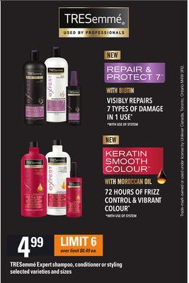 Tresemmé Expert Shampoo - Conditioner Or Styling