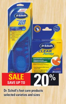 Dr. Scholl's Foot Care Products