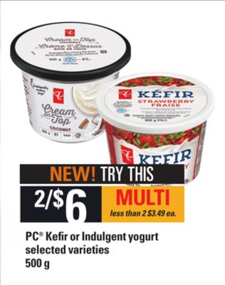 PC Kefir Or Indulgent Yogurt - 500 g