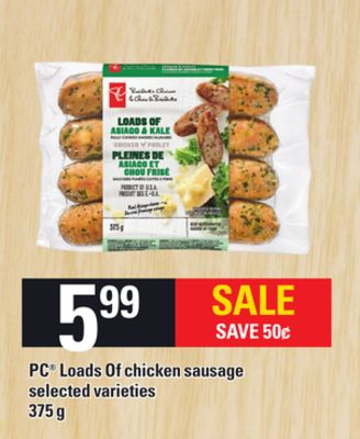 PC Loads Of Chicken Sausage - 375 g