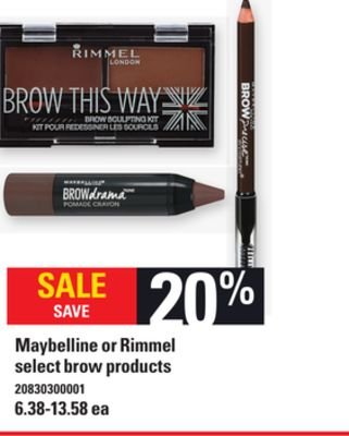 Maybelline Or Rimmel on sale | Salewhale.ca