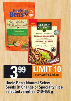 Uncle Ben S Natural Select Rice