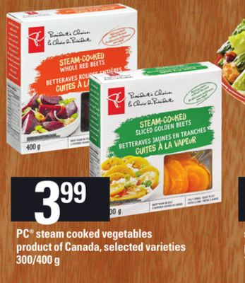 PC Steam Cooked Vegetables - 300/400 G