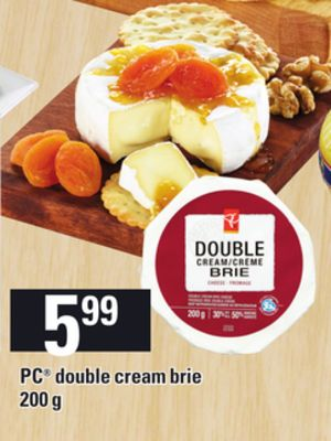 PC Double Cream Brie - 200 G