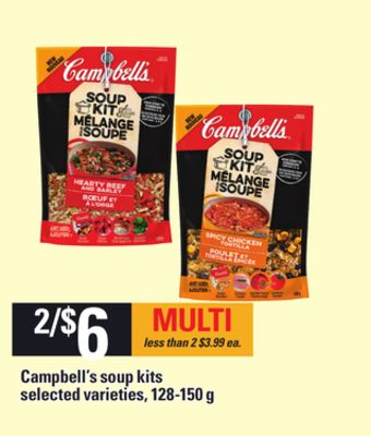 Campbell's Soup Kits - 128-150 g