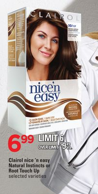 Clairol Nice 'N Easy Natural Instincts Or Root Touch Up