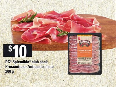 PC Splendido Club Pack Prosciutto Or Antipasto Misto - 200 g