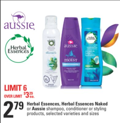Herbal Essences - Herbal Essences Naked Or Aussie Shampoo - Conditioner Or Styling Products