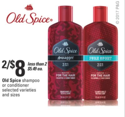 Old Spice Shampoo Or Conditioner