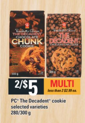 PC The Decadent Cookie - 280/300 g