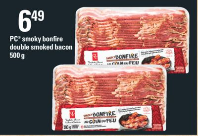 PC Smoky Bonfire Double Smoked Bacon - 500 g