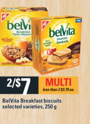 Belvita Breakfast Biscuits - 250 g