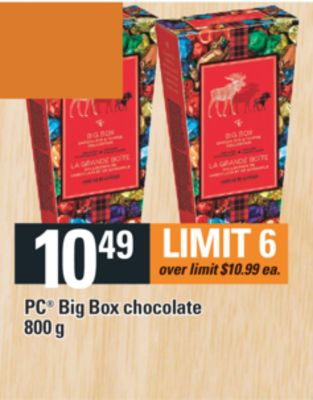 PC Big Box Chocolate - 800 g