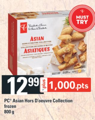 PC Asian Hors D'oeuvre Collection - 800 g
