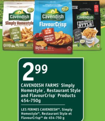 Cavendish Farms Simply Homestyle On Sale