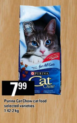 Purina Cat Chow Cat Food - 1.42-2 Kg