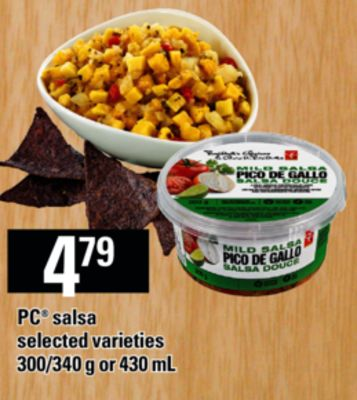 PC Salsa - 300/340 g or 430 mL